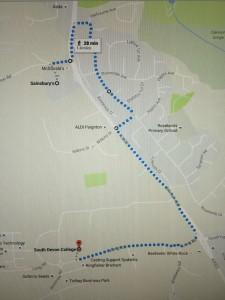 walk in Paignton